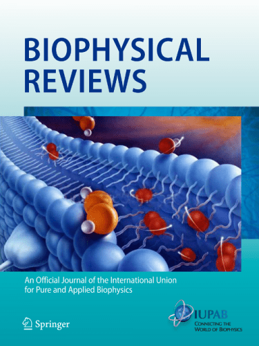 cover of Biophysical Reviews